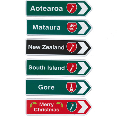 Traffic Road Sign Magnets