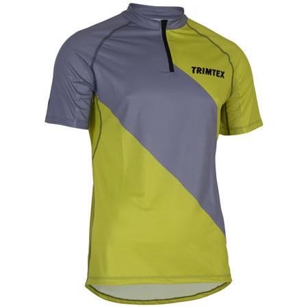 Trail O-Shirt, Steel / Lime