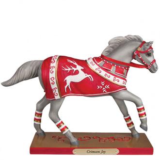 Trail of the Painted Ponies - Crimson Joy Figurine