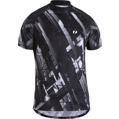 Trail Shirt, Black/White
