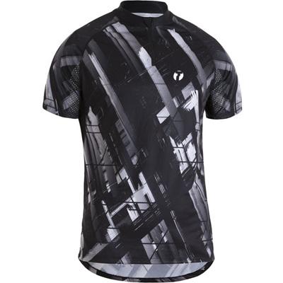 Trail Shirt, Black/White