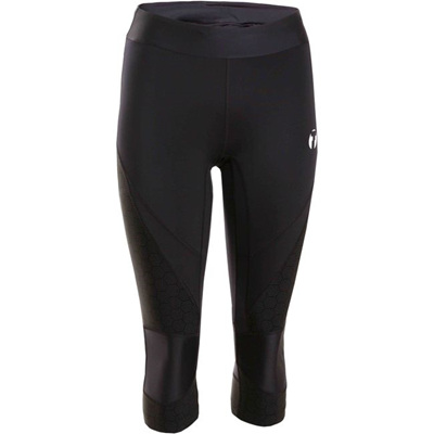 Trail Women's 3/4 Tights, Black