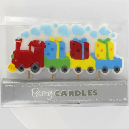 Train Candle - large
