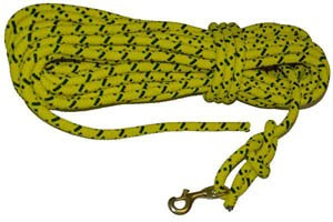 "Training Leash Super Cord 7/16"" 30' 50'"