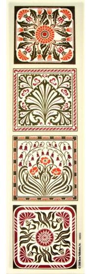 Transfers - Art Nouveau Design