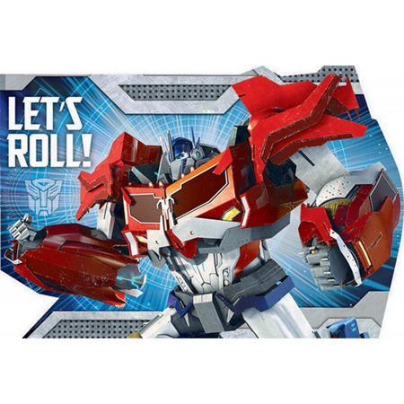 Transformers invites  x 8