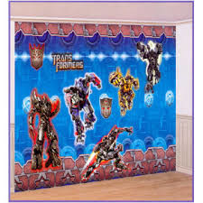 Transformers Revenge of the Fallen - Giant Wall Decorating Kit