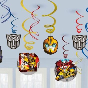 Transformers Swirl Decorations