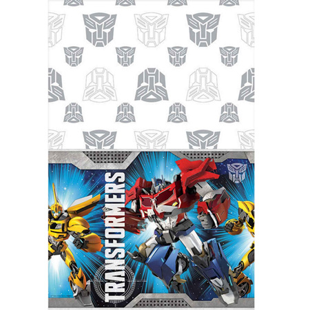 Transformers tablecover - plastic