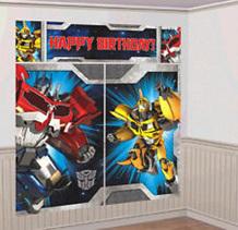 Transformers  Wall Decorating Kit - NEW