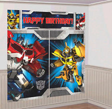 Transformers  Wall Decorating Kit - NEW