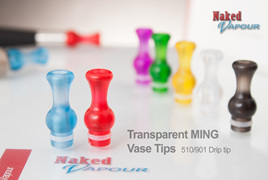 Transparent MING Vase Tip