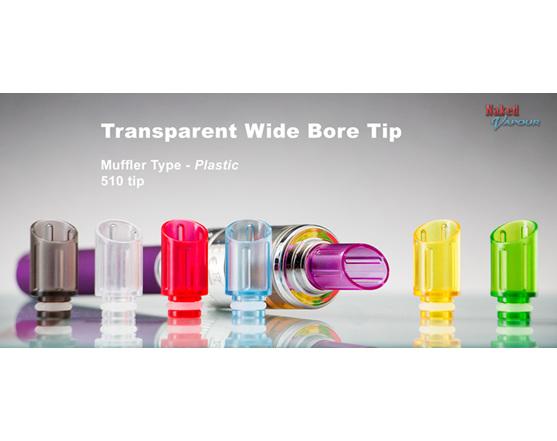 Transparent Wide Bore Tip - Plastic