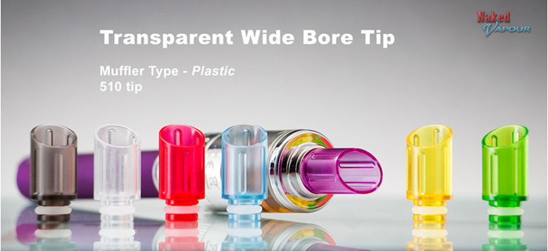 Transparent Wide Bore Tip - Plastic