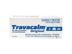 TRAVACALM TAB 10