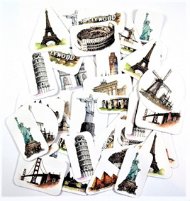 Travel Icon Stickers