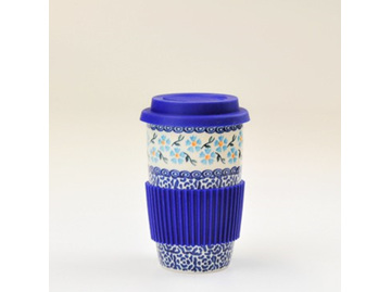 Travel Mug-Heavenly Blue