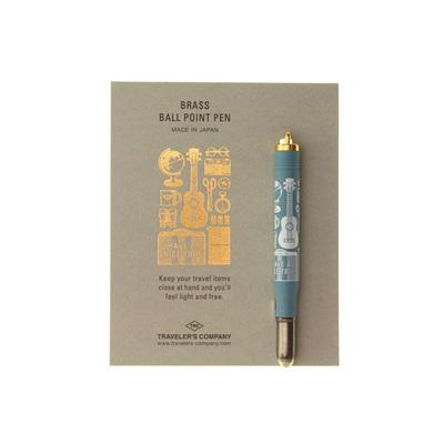 TRAVELER'S COMPANY Travel Tools - brass ballpoint pen