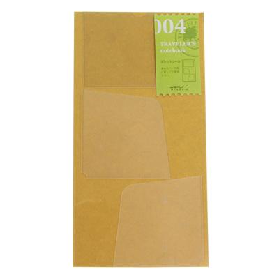 Traveler's Notebook 004 Pocket Stickers