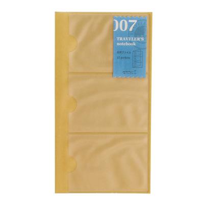 TRAVELER'S notebook 007 Card File