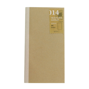 Traveler's Notebook 014 Kraft Paper