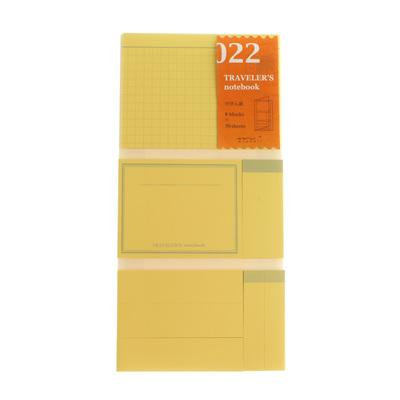 TRAVELER'S notebook 022 Sticky Notes