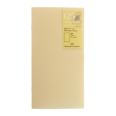 TRAVELER'S notebook 025 MD Paper Cream