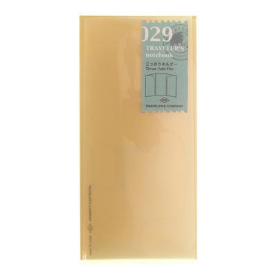 TRAVELER'S notebook 029 Three-fold File