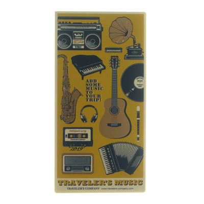 Traveler's Notebook - 2019 plastic sheet