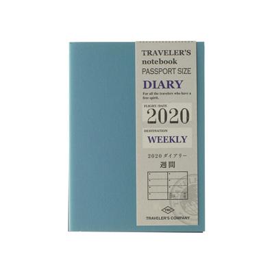 TRAVELER'S notebook 2020 weekly diary - passport size