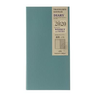 TRAVELER'S notebook 2020 weekly diary plus memo