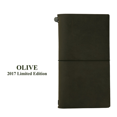 Traveler's Notebook OLIVE *Limited Edition*