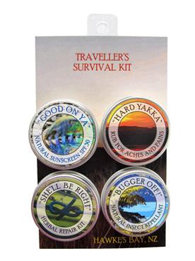 Traveller's Survival Kit herbal balms