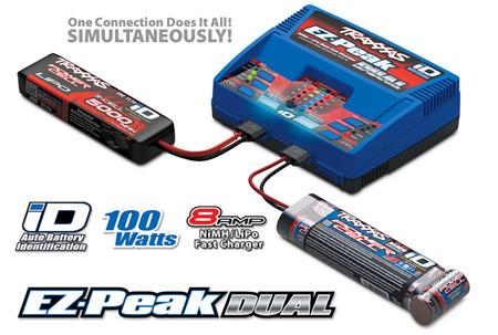 Traxxas EZ-Peak Dual AC 100 Watt Charger #2972