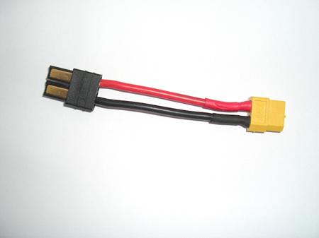 Traxxas Male   XT60 Female Adapter