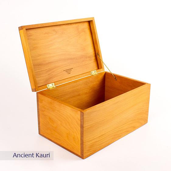 treasure box - ancient kauri