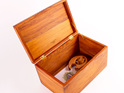 treasure box - heart rimu