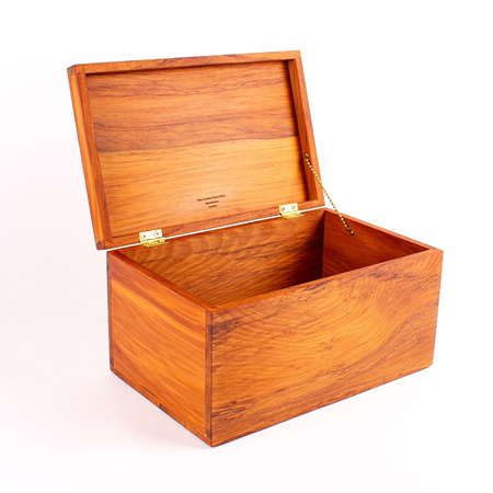 Treasure Box with Hinged Lid