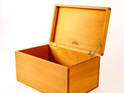 Treasure Box with Hinged Lid - Outlet
