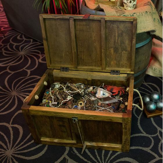treasure chest pirate