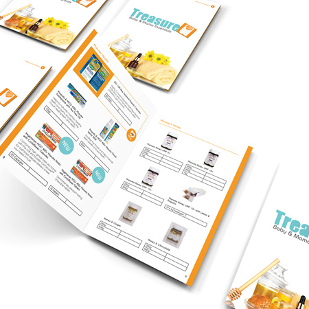 Treasure U Pricing Catalogue