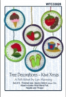 Tree Decorations - Kiwi Xmas