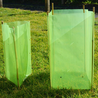 TREE GUARD SLEEVES 180mm x 180mm x 460mm H ( GREEN )