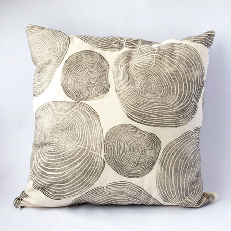 Tree Rings Cushion