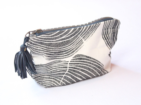 Tree Rings Pouch