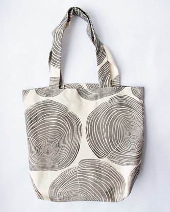 Tree Rings Tote Bag