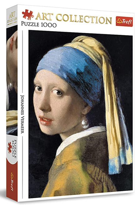 Trefl 1000 Piece Jigsaw Puzzle: Girl With Pearl Earring