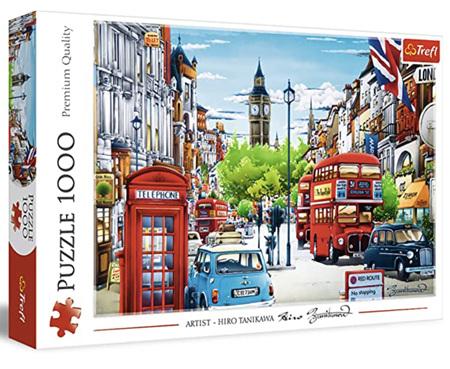 Trefl 1000 Piece Jigsaw Puzzle: London Street