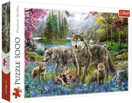 Trefl 1000 Piece Jigsaw Puzzle: Lupine Family