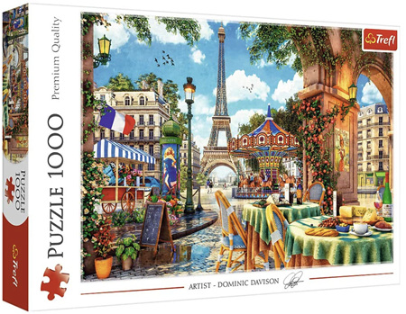 Trefl 1000 Piece Jigsaw Puzzle: Parisian Morning